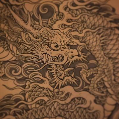 Japanese dragon #drawing #dragon