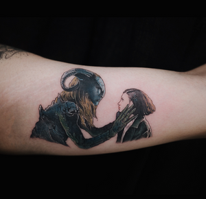 Pan's Labyrinth tattoo by Soltattoo #panslabyrinth
