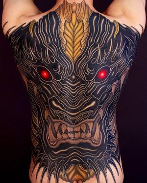 Japanese tattoo by SHIRYU #irezumi #japanesetattoo
