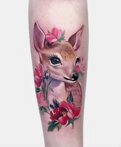 Female sika deer by Janice BaoBao #sikadeer #deer