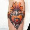Heart by Juliet  ♥️ #blackclaw #blackclawneedle #missjuliet #tattoodo #tattoolife #thebestspaintattooartists #neotradsub