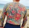 Japanese body suit by Henning #RoyalTattoo #bodysuit #japanese