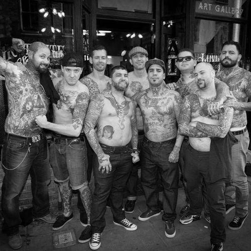 #lovehatesocialclub #london #chrisgarver #darrenbrass #tommymontoya #londontattooconvention #spidergeek #yonizilber #rossnagle #leerodriguez
