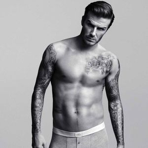 #davidbeckham #celebrity #blackandgrey #sleeves