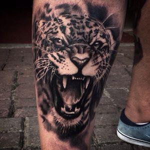 #portrait #blackandgrey #jaguar #realistic #ChicoMorbene