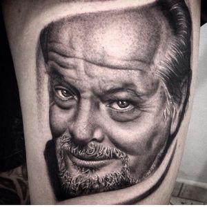 #portrait #JackNicholson #realistic #blackandgrey #ChicoMorbene