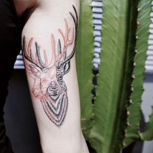 Spirit | por Raphael Lopes #dotwork #dotworktattoo #dotworker #fineline #finelinetattoo #tattoodoBR #estudiometamorphosis