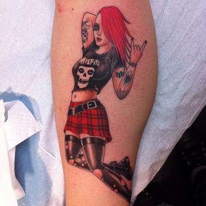 #chrisgarver #rockergirl #misfits #punkrocker #punkrock