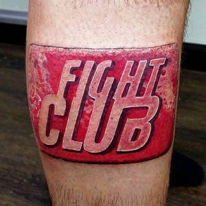 Fight Club tattoo #fightclub #fightclubtattoo #TylerDurden #stevegagliano #tormentedsouls #ny