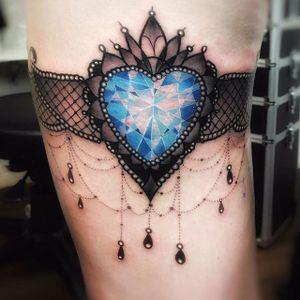 Tattoo by Frank Danisch #tempelmuenchen #münchentattoo #garter