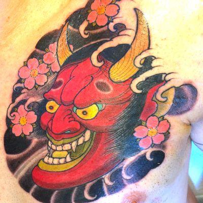 Hannya mask by Phuc Tran #japanese #hannya #hannyamask
