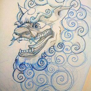 #customtattoo #outline #sketch #artshare