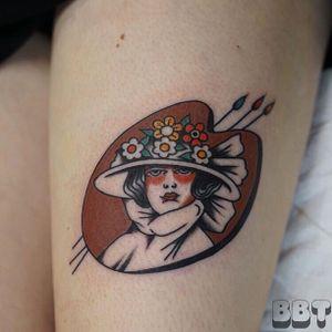 Tattoo by Andrew Mongenas #chicagotattooshops #chicagotattooartist #chicago #brownbrotherstattoo #brownbrostattoo
