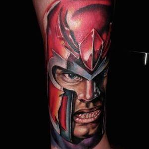 #portrait #color #Magneto #Xmen