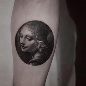 Portrait by COLDGRAY #Coldgray #blackandgrey #realism #portrait #tattoooftheday