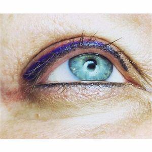 Violet eyeliner by Amy Kernahan (via IG-amykernahan) #permanentmakeup #eyeliner #cosmetictattoo #micropigmentation #AmyKernahan