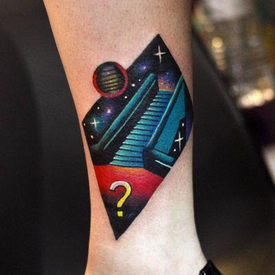 Escada pro paraíso? #DavidCote #gringo #psychedelic #psicodelico #colorido #fullcolor #escada #stairway #space #espaço #galaxy #galaxia #cosmic #cosmica #pontodeinterrogação #questionmark #estrela #star