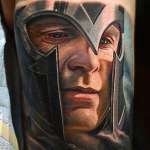 Magneto de Xmen #NikkoHurtado #gringo #realismo #realism #realismocolorido #xmen #magneto #MichaelFassbender #eriklehnsherr #marvel #movie #filme #nerd #geek #capacete #helmet #portrait #retrato