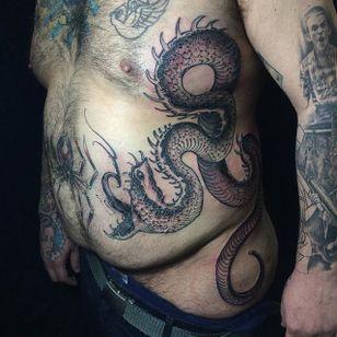 Snake Tattoo by Joao Bosco #snake #snaketattoo #snaketattoos #blackwork #blackworktattoo #blackworktattoos #blackworksnake #JoaoBoscosnaketattoo #JoaoBoscosnake #JoaoBosco