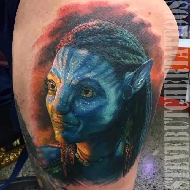 Avatar de 2008 #SteveButcher #ClassicosDoCinema #Filmes #movies #classicmovies #cinema #avatar #jamescameron #navi #realismo #realism #nerd #geek
