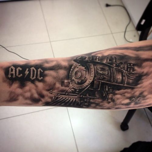 #rockandroll #ACDC #rock #pretoecinza #newschool #DouglasScherer #brasil #brazil #portugues #portuguese