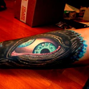 The third eye from the inlay of Aenima. Photo from Pinterest by unknown artist #Tool #AlexGrey #progressivemetal #albumcover #thirdeye #aenima