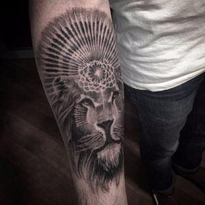 Lion. (via IG - nikolay_tereshenko) #nikolaytereshenko #blackandgrey #softblackandgrey #lion
