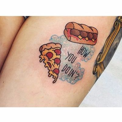 How you doin'? #LaurenWinzer #friends #tvshow #serie #rachel #ross #monica #phoebe #joey #chandler #pizza #sandwich #sanduiche #howyoudoin #frame #moldura #olhomagico #peephole