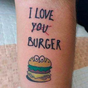 Por Nani Tats! #NaniTats #Hamburguer #burger #burgerlove #hamburger