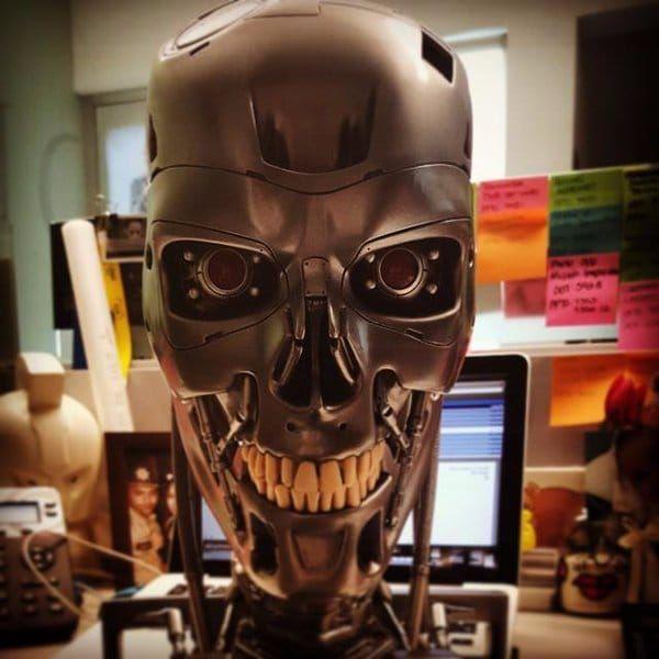 Robots might be coming for tattooers' jobs. #RobotTattoos #Robot #Robots