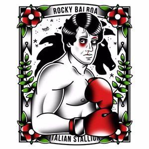 #DerickJames #RockyBalboa #SylvesterStallone #boxe #filme #movie #lutador #fighter #illustration #ilustração