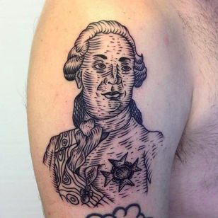 Louis XVI by Vinny at Bodkin Tattoo #vinny #bodkintattoo #louisxvi #frenchrevolution