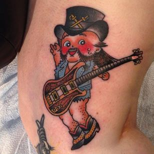 Kewpie Lemmy by Sara Purr #SaraPurr #motörhead #motorhead #lemmy #kewpiedoll #kewpie