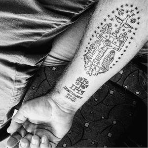Photo by Anna Felicity Friedman of Atlas Obscura. #RazzoukInk #jerusalem #israel #history #tattooartistfamily #legacy #religious #christian #tattooshop #ancient #WassimRazzouk #tattooartist