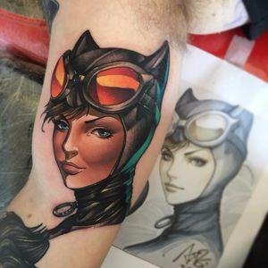 Selina Kyle sempre linda #AndyWalker #GothamCitySirens #SereiasDeGotham #Catwoman #mulhergato #dc #comic #cartoon #movie #filme #heroes #villains #badgirls #girlpower #SelinaKyle
