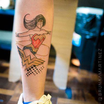 #BrunaMartinez #brasil #brazil #brazilianartist #TatuadorasDoBrasil #aquarela #watercolor #sketch #colorido #colorful #wonderwoman #mulhermaravilha #dc #hq #movie #filme #nerd #geek #comics #superhero #superheroi
