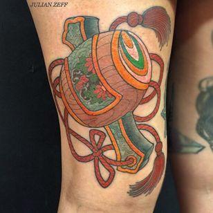 Uchide no Kozuchi Tattoo by Julian Zeff #UchidenoKozuchi #Japanese #hammer #JulianZeff