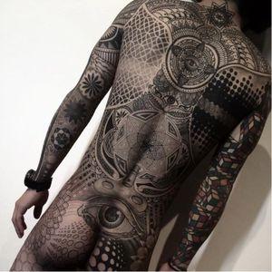 Bodysuit by Nissaco #nissaco #bodysuit #rubik #sacredgeometry