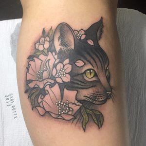 #GabeMotta #tatuadoresdobrasil #gato #cat