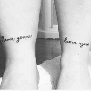 Never gonna dance again (via IG—laitdsoya) #GeorgeMichael #Pride #LGBT #PrideTattoos #MusicTattoo