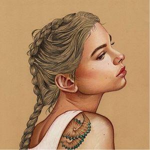 Elena Pancorbo Illustration. #ElenaPancorbo #artist #tattooart #traditionalart #illustrator #tattooedillustration