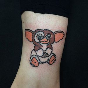 Gremlin tattoo by Clara Ambrosia. #ClaraAmbrosia #cute #fun #gremlins #film