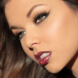 Criss Cross Temporary Lip Tattoo #Temporary #LipTattoo #LipArt #Lip #Art #LipTattoos #LipSticker