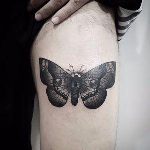Por Fah Matos! #FahMatos #FabricioMatos #TatuadoresBrasileiros #linhafina #blackwork  #Fineline #finelinetattoo #borboleta #butterfly #butterlfytattoo