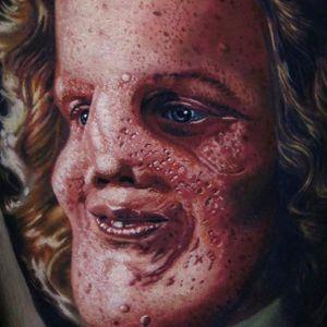 Photo and tattoo by jamie Schene. #JamieSchene #tattoo #color
