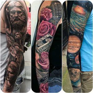 Sleeve Tattoo by Joe Carpenter #realism #realistic #realismsleeve #sleeve #JoeCarpenter