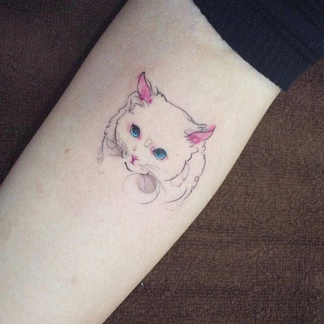 #cat #cattoo #tattooistdoy #doy #southkorea