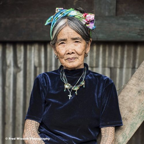 Whang-Od. Photo by Fred Wissink Photography. (www.fredwissink.com) #Whangod #Philippines
