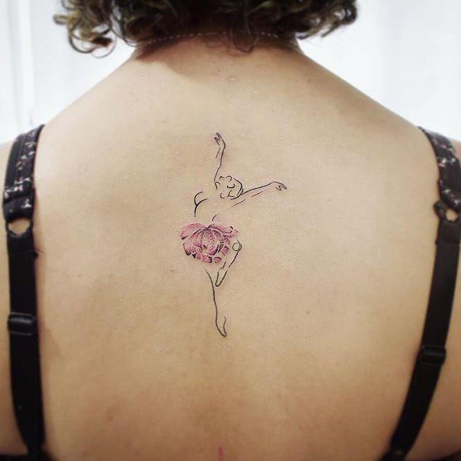 #MarioOkbça #brasil #brazil #brazilianartist #tatuadoresdobrasil #balé #ballet #dance #dança #ballettattoo #bailarina #balerina #flor #flower