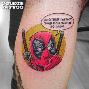 Can't help it, man! #Deadpool #comic #marvel